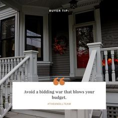 Here's a little #WednesdayWisdom from #TheKnollTeam for those of you in the home-buying arena: In a competitive real estate market with limited inventory (like Denver, Colorado,) you're likely to end up bidding on houses with multiple offers. When you've found a home you absolutely love, it's tempting to make a high-priced offer that's sure to win. But don't let your emotions rule - stick to your purchase budget to avoid getting stuck with a mortgage payment you can't afford. #localrealtors…