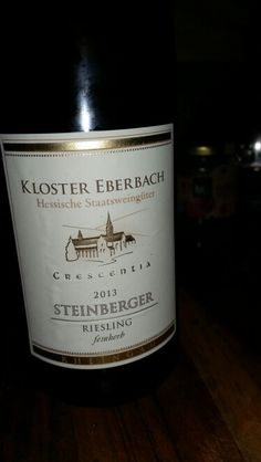 1959 Steinberger Cabinet Riesling Beerenauslese, Rheingau | WINE ...