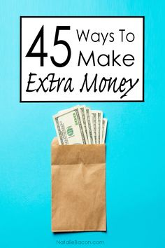 45 Ways to Make Extra Money (and Side Hustle) | Natalie Bacon