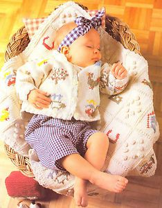 BABY COVER KNITTING PATTERNS