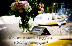 Are you planning a wedding? Heres an idea of how much wedding photographers charge and what you should expect to budget depending on your wedding plans: http://composingreality.com/wedding-photographer-pricing/