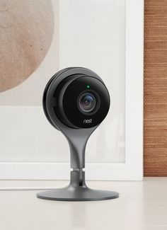 Use Nest Cam as a pet cam or baby monitor. Or just feel better knowing that everything's OK when you're away. Set it up in a minute and stream securely – you'll get a 130° wide­-angle view and can zoom in for a closer look.