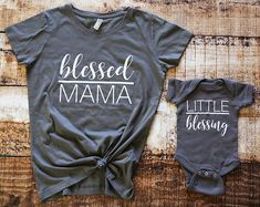 Blessed Mama Shirt Mommy And Me Shirts Matching Mother Daughter Mom And Son Matching Outfits Mother'S Day Gift Gesegnete Mama Shirt Mama und ich Shirts passende Mutter Tochter Mutter und Sohn passende Outfits Mutter Tag Geschenk Mommy And Me Shirt, Mommy And Son, Mommy And Me Outfits, Baby Boy Outfits, Mother Son Matching Outfits, Mom And Me, Mommy And Me Clothing, Mommys Boy, Daddy Daughter