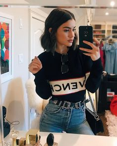 Find images and videos about fashion, style and outfit on We Heart It - the app to get lost in what you love. Look Fashion, 90s Fashion, Winter Fashion, Fashion Outfits, Womens Fashion, Winter Outfits, Casual Outfits, Cute Outfits, Winter Looks