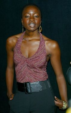 Actress Danai Gurira  player of Michonne: a fictional character from the comic book series The Walking Dead and is portrayed by Danai Gurira in the television series of the same name.