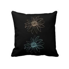 Chic Daisies Pillows