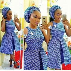 African Dresses For Women, African Print Dresses, African Attire, African Wear, African Fashion Dresses, African Women, Ankara Fashion, African Prints, African Style