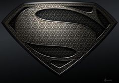 Gold Superman Shield