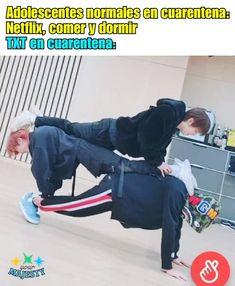 K Pop, Funny Memes, Jokes, Blackpink Memes, Memes Chinos, Meme Photo, Jungkook Cute, Foto Bts, Namjin