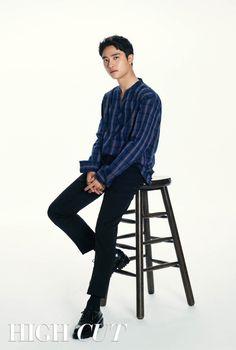 D.O - 181002 High Cut magazine, volume 228 Kyungsoo, Exo Chanyeol, Kpop Exo, Do Kyung Soo, Park Jung Min, Choi Hee, Park So Dam, O Tv, Exo Lockscreen