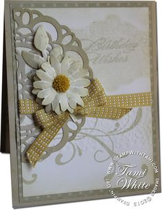 Stampin Up Everything Eleanor WOW card (See link for supply list and more info)