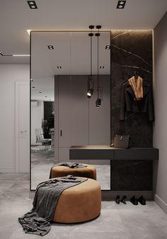 Bedroom Bed Design, Bedroom Furniture Design, Home Room Design, Home Decor Bedroom, Home Interior Design, Living Room Designs, House Design, Apartment Interior, Apartment Design