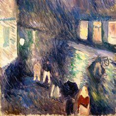 Pioggia autunnale, Edvard Munch, 1892.jpg