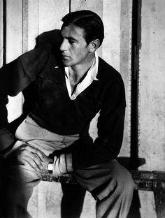 Cecil BEATON :: Gary Cooper   nd