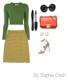 """""""Untitled #173"""" by slayparadise on Polyvore featuring Opening Ceremony, St. John, Michael Kors, Lancôme, Gianvito Rossi and Linda Farrow"""