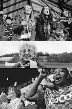 Photographer Nudrat Afza moved to the UK from Pakistan in the 1960s and had never been to a football match, thinking the sport wasn't for her, as an Asian woman. But when a friend took her to a Bradford City match in 2014, she thought it was incredible and was pleasantly surprised by how many women were there. Now an exhibition of her photos of female Bradford fans, titled City Girls, is being staged at the National Science and Media Museum in the West Yorkshire city.