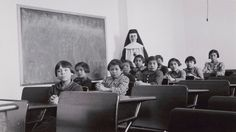 Canada confronts its dark history of abuse in residential schools Landmark report reveals school system's brutal attempt to assimilate thousands of native children for more than a century and gives voice to survivors Canadian History, American History, Indian Residential Schools, Residential Schools Canada, Aboriginal Language, Native Child, Aboriginal People, Aboriginal Children, Aboriginal History