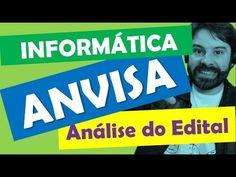 Concurso ANVISA 2016 Análise do Edital - Informática