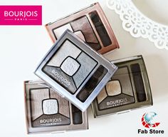 Prime, shadow, define and highlight the eyes with Bourjois' Quad Smoky Stories eyeshadow. Each palette has 4 complimentary shades that blend effortlessly together to create the perfect smoky eye. Available at Fab Store Beauty outlet in Spinneys the Pearl Qatar-Madinat Centrale.