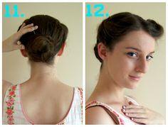 Quick Vintage Inspired Hair Tutorial