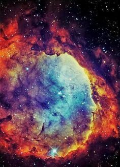 NGC 3324 is a star cluster at the northwest corner of the Carina Nebula, home of the Keyhole Nebula and star Eta Carinae