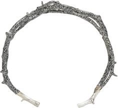 Pearls Before Swine Silver Thorn Cuff
