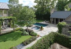 houston, tx Pool House and Residence