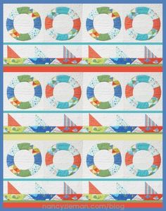 Sailing Quilt by Nancy Zieman | Craftsy Free PDF