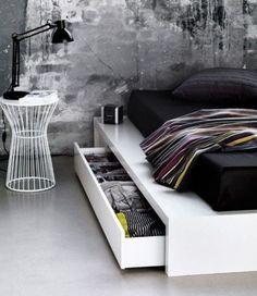 Bed frame with storage http://www.boconcept.com/en-us/furniture/sleeping/beds/1768