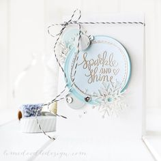 Vellum love with the new Dec Card Kit from Simon Says Stamp. For more please visit http://limedoodledesign.com/2014/11/vellum/ Debby Hughes - Lime Doodle Design #vellum #cardkit