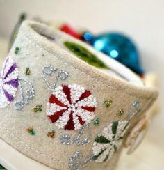 holiday cuff bracelet