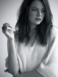 EMMA STONE. love women who are genuinely funny without acting dumb