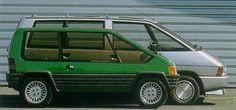 Matra P19 (Projet de Mini Renault Espace), 1981