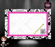 Desk Blotter, Personalized and Monogrammed
