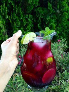 Blueberry Puree Limeade Recipe
