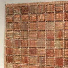 copper glass tile backsplash - gorgeous