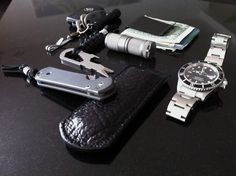 "Here's your chance to ""window shop"" the pocket dump of the Everyday Carry, or EDC, items and gadgets that people keep with them on a daily basis. Great source to learn of quality accessories to keep with you at all times."