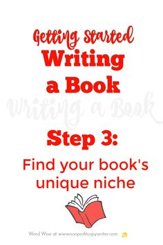 Getting started writing a book, Step 3 with Word Wise at Nonprofit Copywriter Book Writing Tips, Writing Resources, Start Writing, Writing Help, Writing Skills, Writing Prompts, Creative Writing Jobs, Freelance Writing Jobs, Copywriter