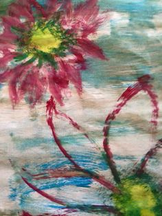 Flower Water Painting
