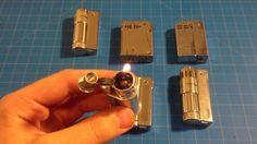 "Vintage Trench Lighter ""Austrian, IMCO, Regens, """