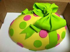 Easter Egg Cake  Cakes Pinterest cakepins.com