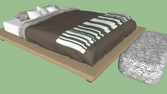 Bed (high poly) - 3D Warehouse