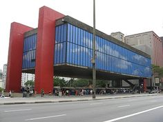 MASP (Museum of Art of São Paulo), São Paulo, SP, Brazil.