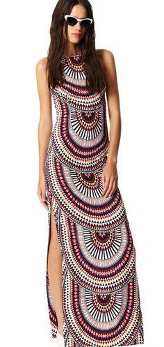 Mara Hoffman El Mundo Column Dress