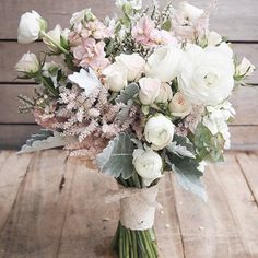 Have you ever seen a more beautiful bouquet? pastel flowers really are the most romantic choice for your wedding day www.wed2b.co.uk