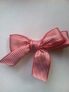 Hair Clip  Christmas Holiday ClippiePeppermint by ShopLittleO, $6.00