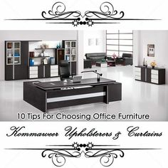 Don't always know how to choose the right office furniture? 10 tips for choosing office furniture - read more here:http://on.fb.me/MF3Hsh. #office #furniture