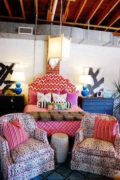 ikat headboard - Google Search