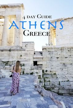 4 Days in Athens: Your Ultimate Guide - Find Love & Travel Here is the ultimate way to spend 4 Days in Athens, Greece. This travel guide includes tips, tricks, must see spots, food and more! Mykonos, Santorini, Greece Vacation, Greece Travel, Greece Trip, Greece Honeymoon, Greece Cruise, Greece Photography, Athens Greece