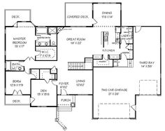 House Plans | House Plans, Bluprints, Home Plans, Garage Plans and Vacation Homes